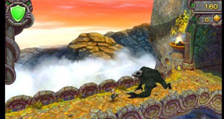 """《神庙逃亡》里的大黑怪是不少玩家的""""噩梦"""""""