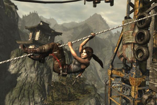 《古墓丽影》的过场CG给游戏本身加分很多。