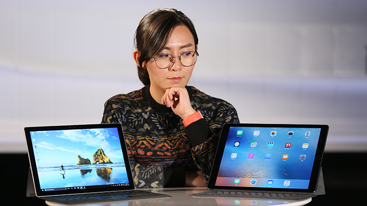 iPad还是Surface?这是个难题