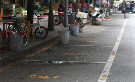 深圳路边停车收费后,停车数量减少,说明很多人平时一直拿路边停车位当自己的车库用