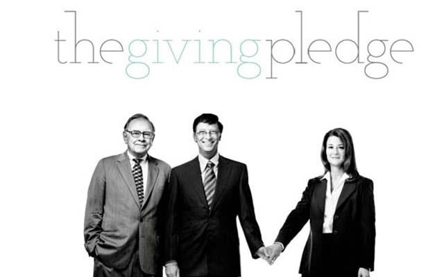盖茨、巴菲特曾提出《捐款承诺》计划,要求签署者有生之年至少捐出一半的财产