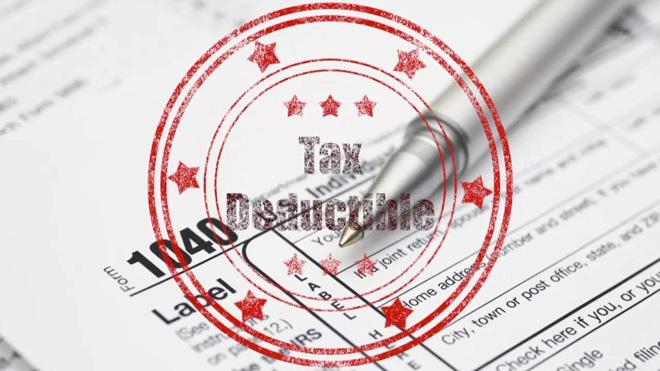 """在美国,""""税收抵扣""""是每年计算纳税额时非常重要的一环"""