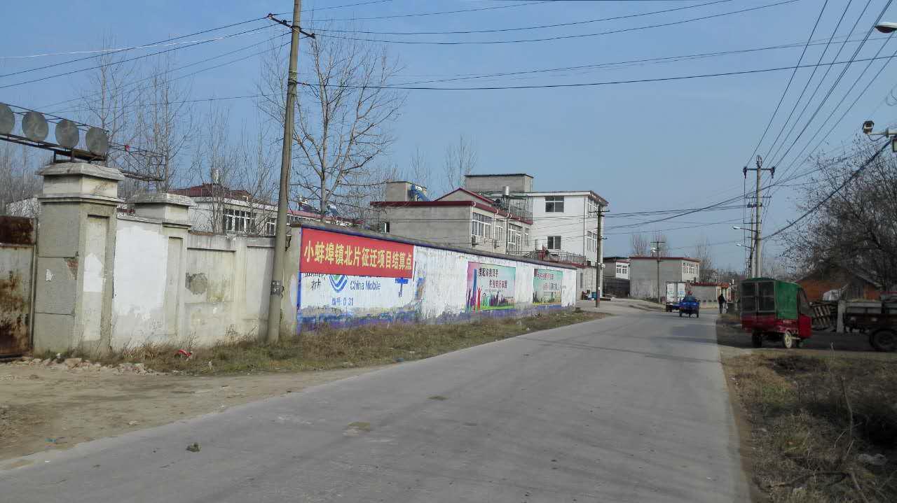 丁宁的老家丁岗村