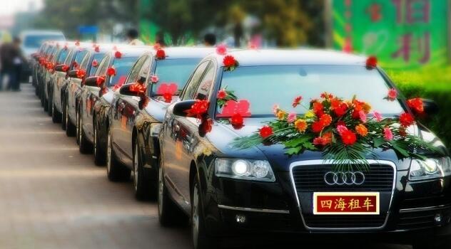 租来的婚车,绕城一圈,绕给谁看?