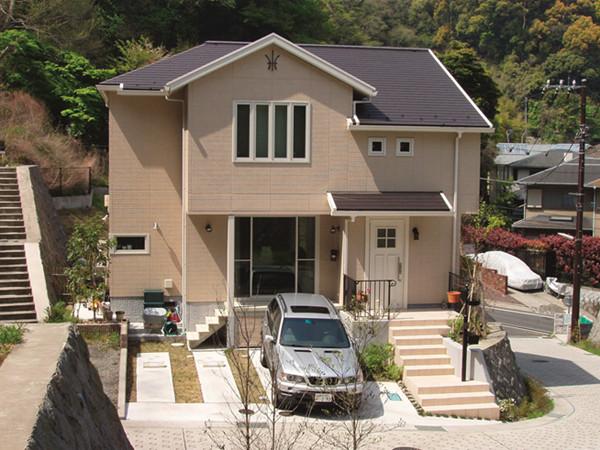 日本的城市中也有别墅