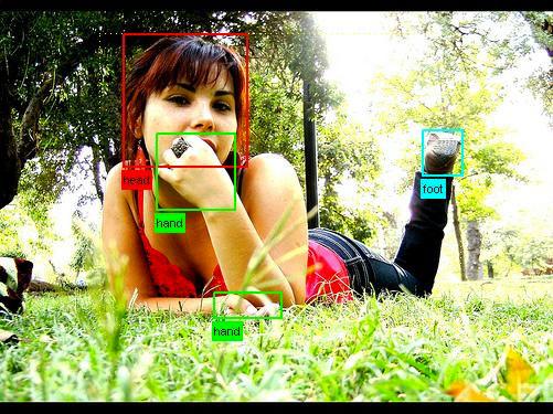 使用机器学习技术的图像识别程序,已经能轻易从图片中识别出人体的各种部位