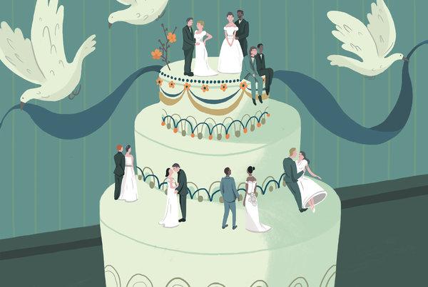 美国现在男女结婚也越来越讲门当户对