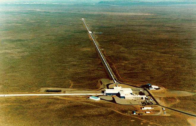 LIGO项目的巨型装置,目的只是为了探测引力波