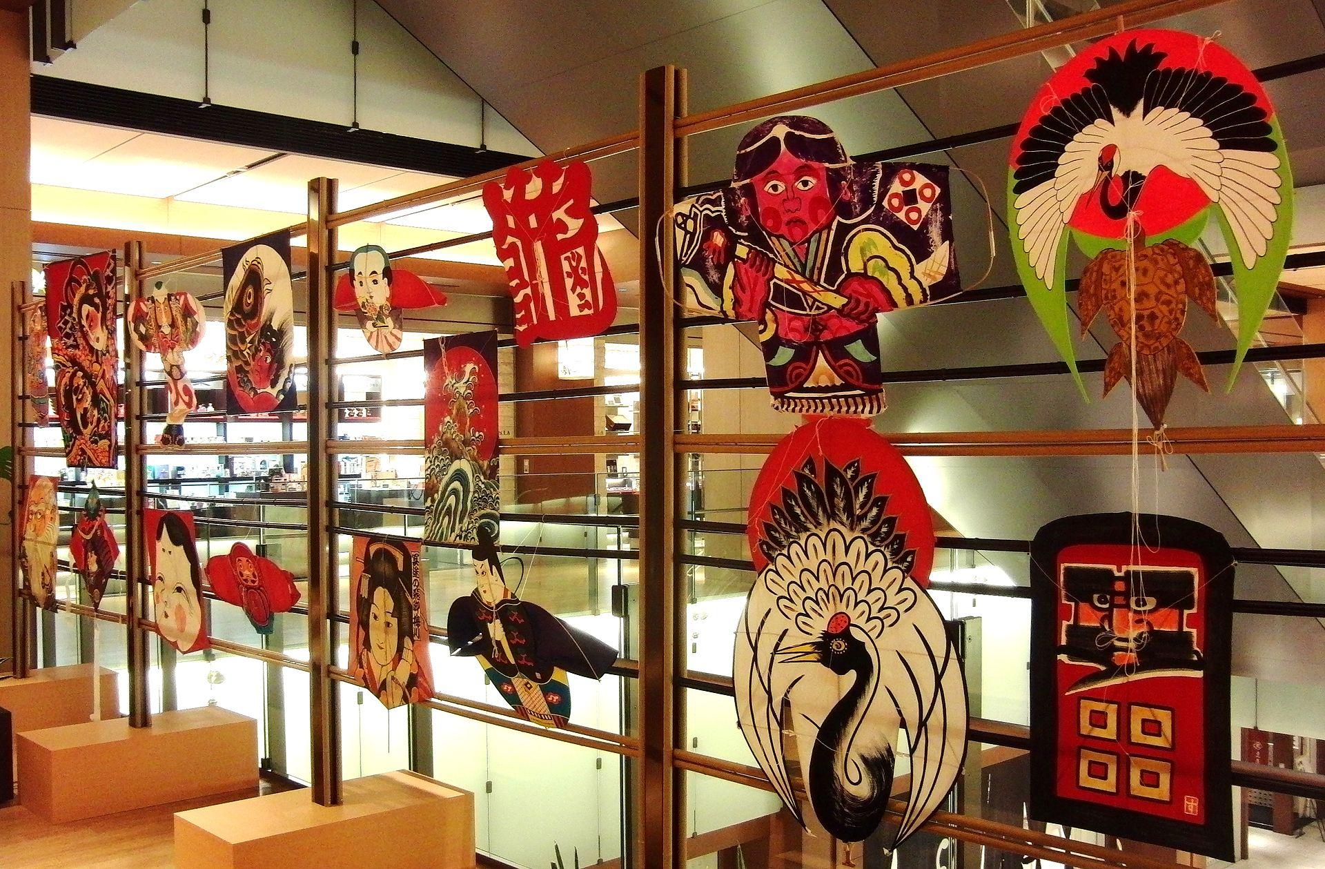 日本的各式风筝