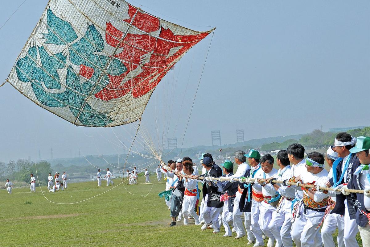 日本风筝合战
