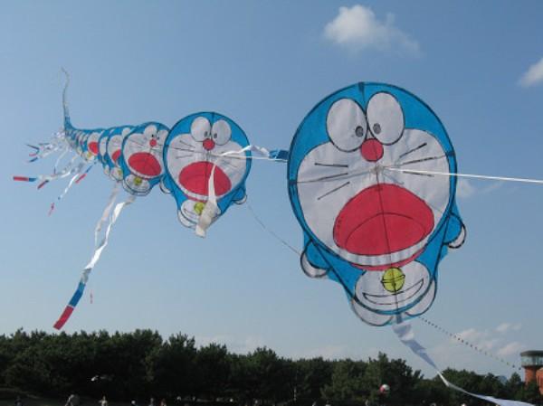 日本长串风筝