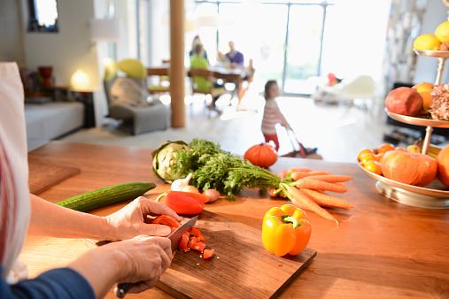 厨房,一家人的社交场域图片