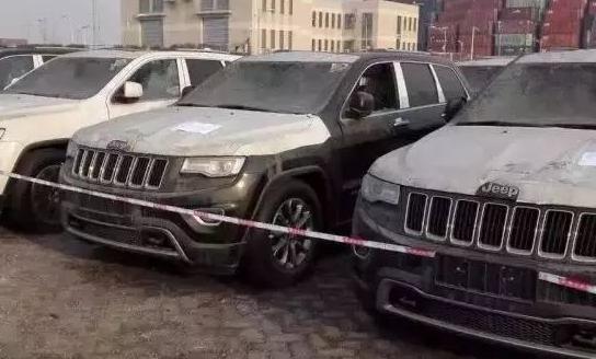 JEEP受损车辆