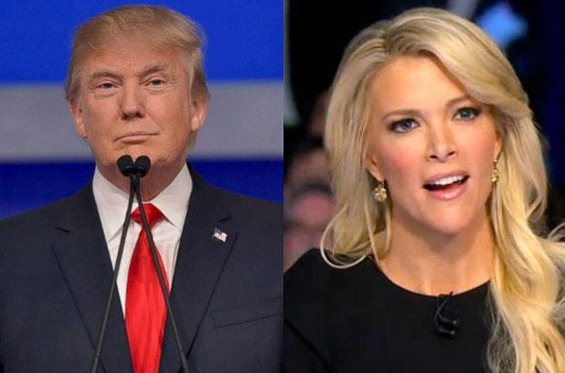 在共和党候选人辩论节目中,特朗普与女主持人激烈冲突