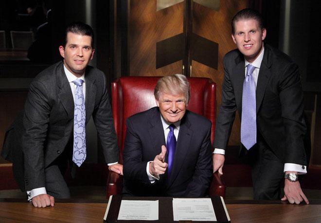 电视真人秀《学徒》让特朗普作为成功人士广为被美国人认知