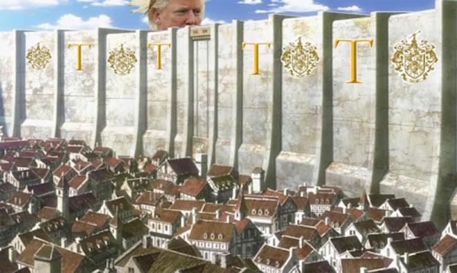 """很多媒体嘲笑特朗普的""""美墨边境墙""""并不现实"""