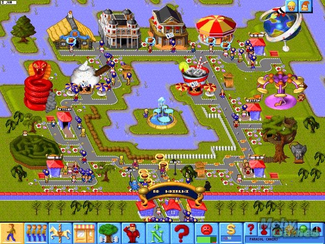 """哈萨比斯在牛蛙主导开发的""""主题公园""""游戏,二十年前曾广受欢迎,受到高度评价"""