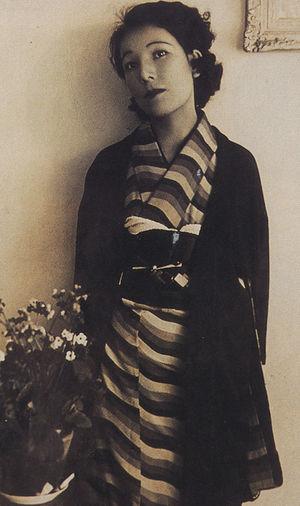 日本女作家宇野千代(1897-1996)