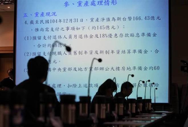 国民党公布党产专案报告