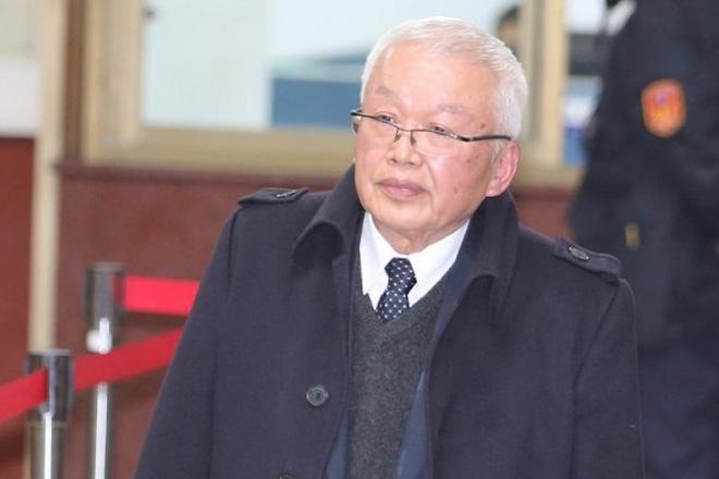 """刘泰英,被称为李登辉时代的""""国民党大掌柜"""",因涉多宗金融弊案而被判入狱5年,2011年出狱"""