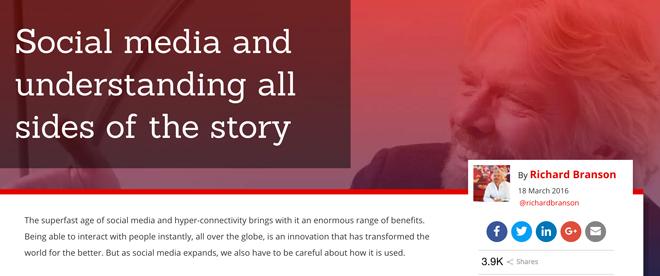 维珍航空老板Richard Branson发了一篇声明,认为对维珍的指责是片面、不准确的