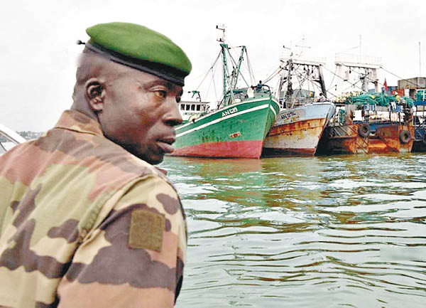 科特迪瓦曾于2014年扣押两艘中国渔船