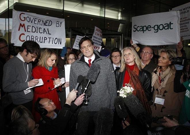 Wakefield博士和他的支持者们