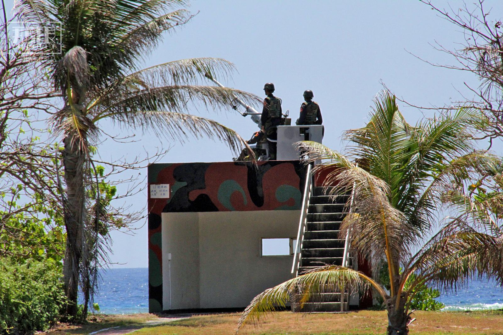 南沙太平岛探秘:上岛就能收到越南手机信号(组图)