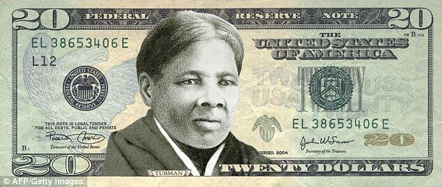 黑人女性哈丽特・塔布曼登上20美元纸币
