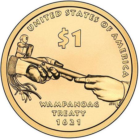 2011年硬币背面
