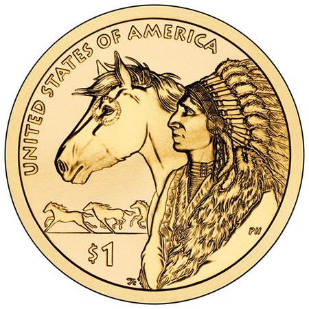 2012年硬币背面