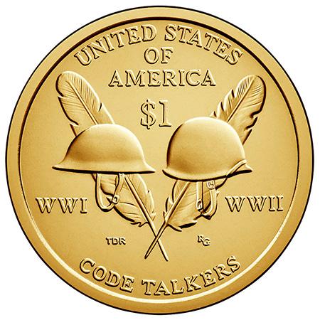 2016年硬币背面