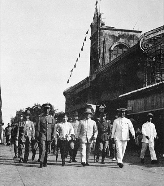 1921月5月6日,孙中山抵达韶关督师北伐。