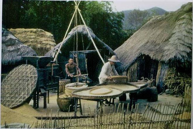 飞虎队拍摄的40年代云南农村