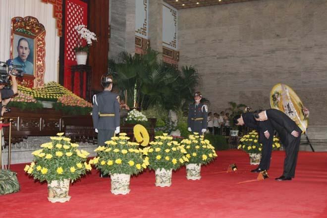 2008年,马英九遥祭中山陵