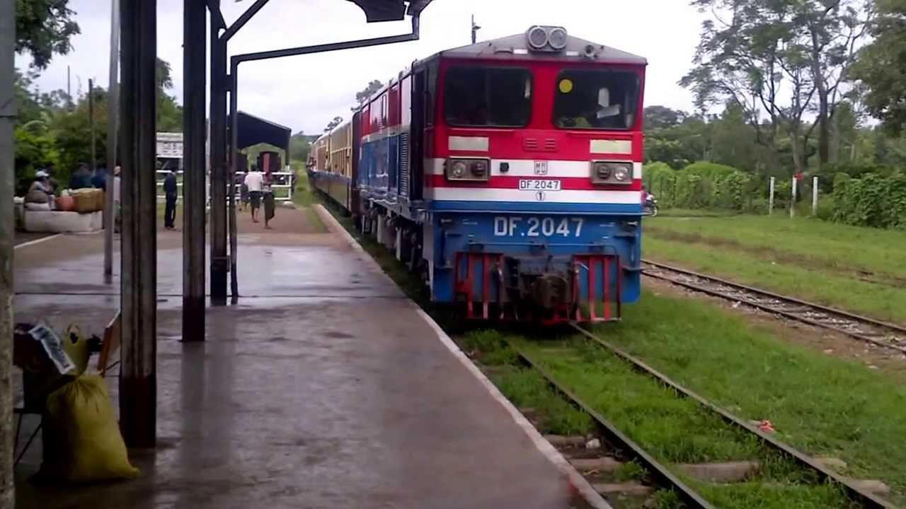 跟缅甸火车一起跳舞