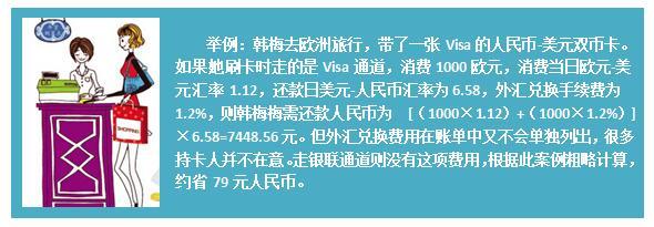 外汇兑换费计算案例 制图:大粤财经