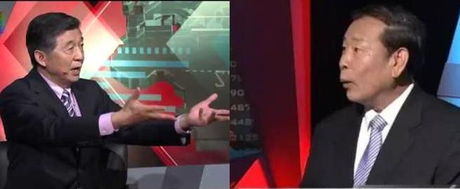 吴建民先生与罗援少将曾经在电视节目上辩论