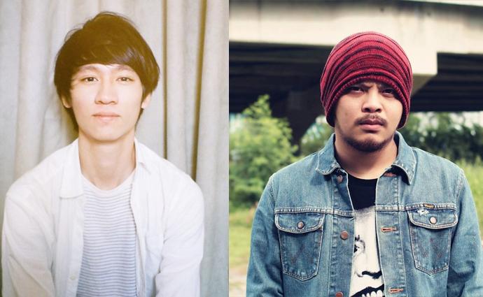 获得最佳国语男歌手提名的柯智棠(左)和黄明志(右)