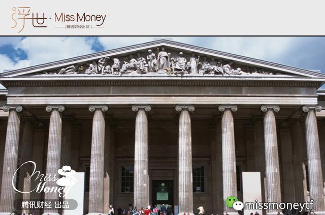 """(图:大英博物馆收藏的珍宝来自世界各地,是英国昔日作为""""日不落帝国""""的一个缩影。)"""