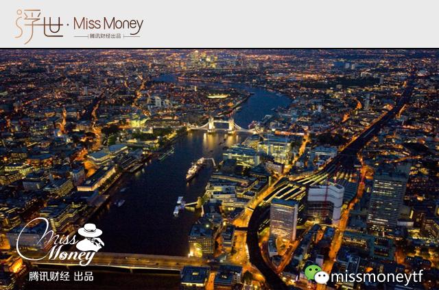 (图:伦敦金融城的夜景,全球知名的金融机构都集中在此地。)