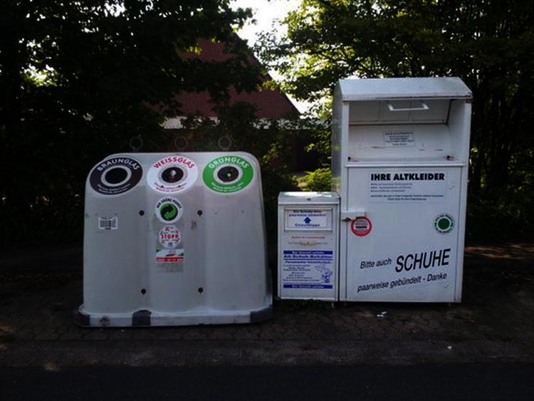 德国的垃圾处理以社区举办为主