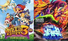 儿童游戏改编的动画电影呈现出稳定盈利态势