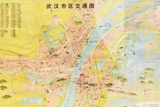 的武汉市区地图