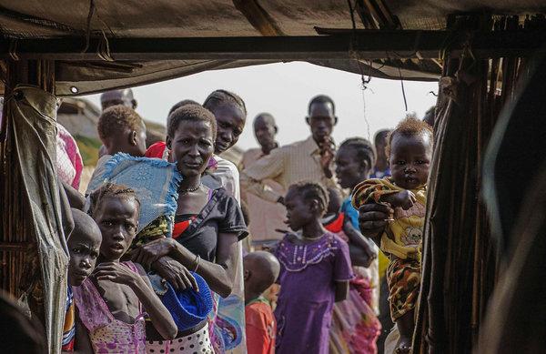 联合国在南苏丹设立的难民营