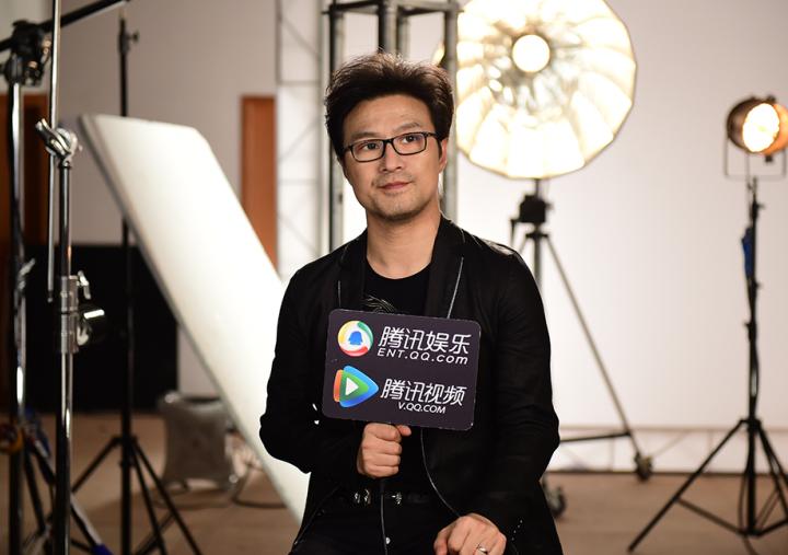 汪峰接受腾讯娱乐独家专访