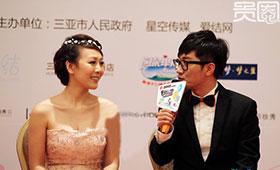 金志文的婚礼被各种赞助商的LOGO包围