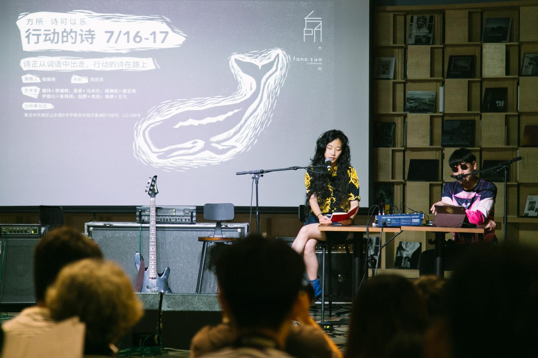 袁玮与李增辉。摄影/游粤飞