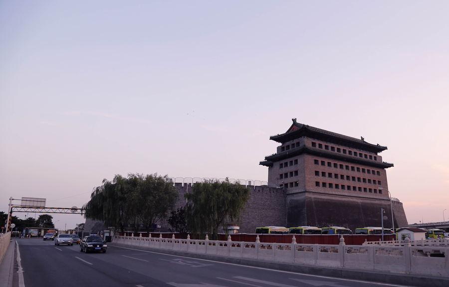 北京德胜门风光。东方IC供图