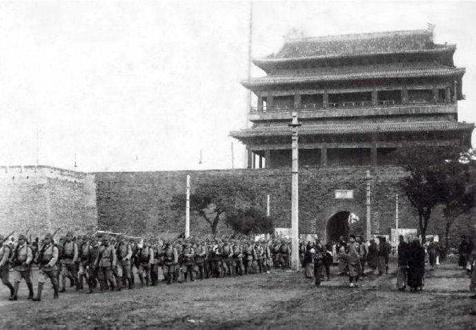 """1937年日军从宣武门进京,他们来""""宣武"""""""